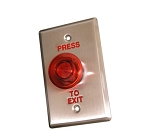 ECL-ACC400IL: Red Push To Exit Button