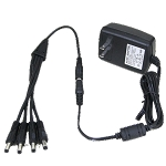 ECL-DC4M 12V DC 2000MA 4 camera easy plug in power supply
