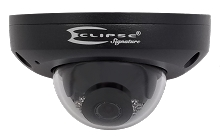 Eclipse Signature ESG-IPDW4F2-B Vandal-resistant Network IR Fixed Mini Dome 4MP Black