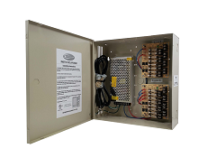 ECL-PS16DC: 12VDC Power supply, 16 Channels