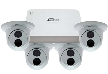 ESG-IPK8C4T 4 Camera HD IP System with 8ch NVR