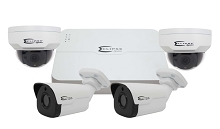 ESG-IPK8C4S 4 Camera Starlight HD IP System with 8ch NVR