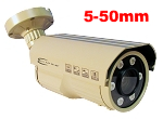 ECL-AB64 5-50mm 2 Megapixel TVI/AHD Bullet Camera with 250 Feet IR (Varifocal Lens)